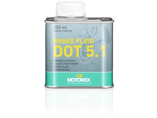 Motorex DOT 5.1 Brake Fluid 250ml Can